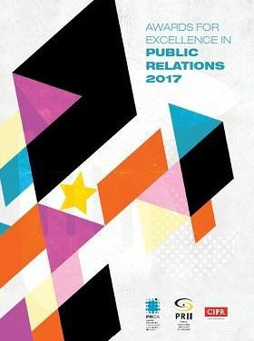 Awards for Excellence in PR 2017 – Shortlist Announced