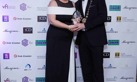 AM O'Sullivan PR awarded Best Professional Services Business at Cork Business Association Awards 2017