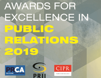 Awards for Excellence in Public Relations 2019 – Shortlist